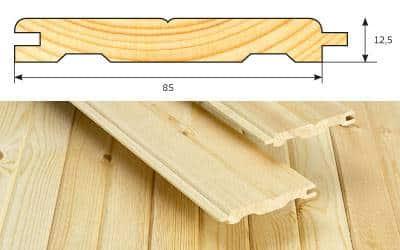 Брусок 50х50 сухой строганный лиственница